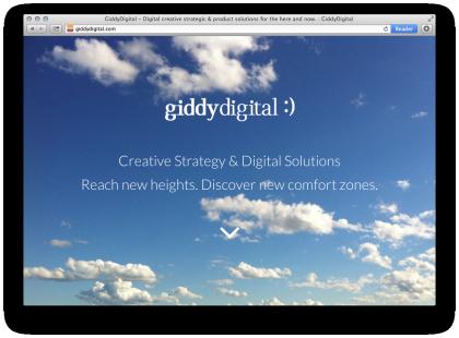 giddydigital.com screenshot