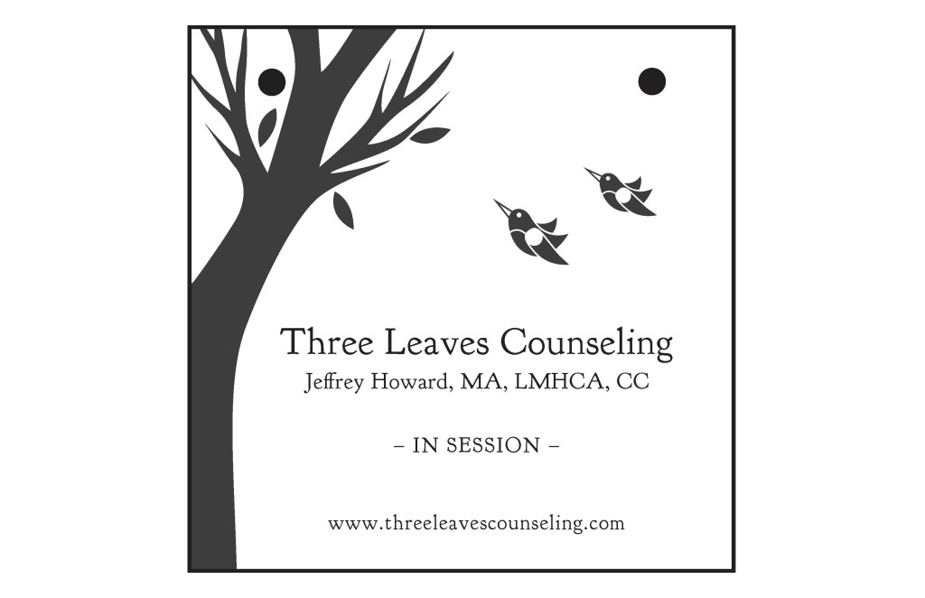 Three Leaves Sign