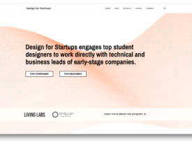 Design for Startups at Emily Carr